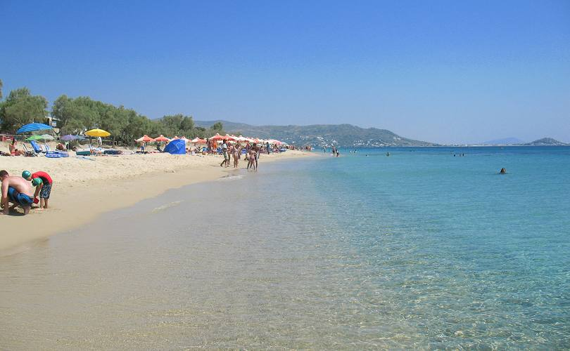 Cash Car Rentals >> Plaka beach on Naxos Island Greece, beaches, hotels and travel guide by naxos-hotel.com
