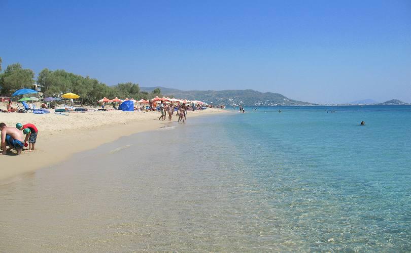 Cash Car Rentals >> Plaka beach on Naxos Island Greece, beaches, hotels and travel guide by naxos-hotel.com