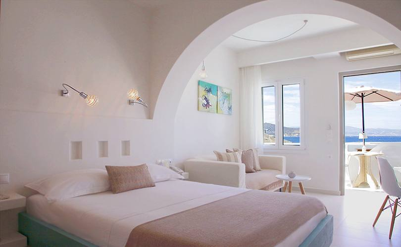 Glaros boutique hotel at saint george beach in naxos for Boutique hotel naxos