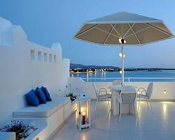Naxos hotels the hotel naxos island guide to saint george for Boutique hotel glaros