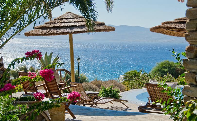 Kavos boutique hotel in naxos agios prokopios beach for Boutique hotel naxos