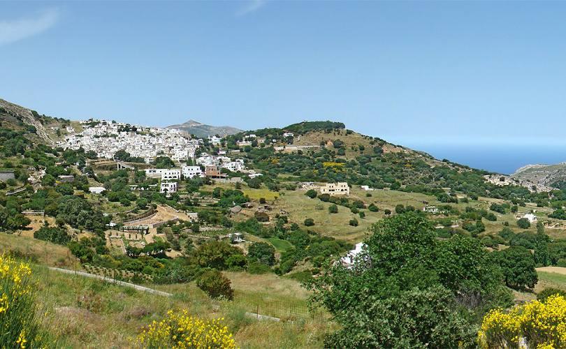 Apeirathos In Naxos Is A Mountainous Village With A Very