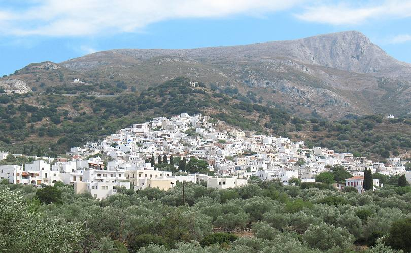 Filoti Village In Naxos Travel And Hotels Guide To The